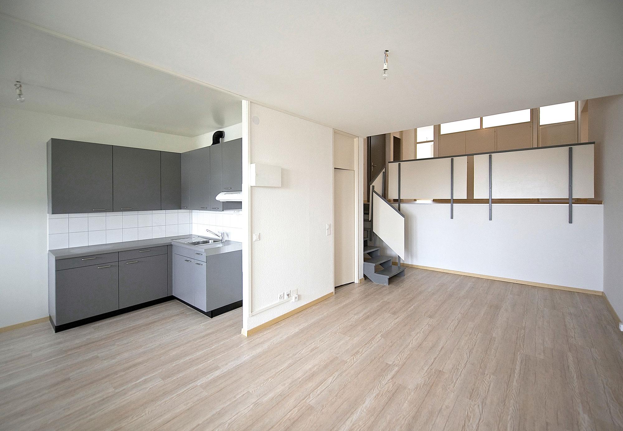 Tous les appartements sont entièrement rénovés et équipés d'installations modernes.
